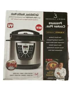 Pressure Cooker Plus 8 Quart Home Kitchen OneTouch Cooking O