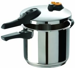 Pressure Cooker T-fal Dining Cookware Valve Kitchen Stainles
