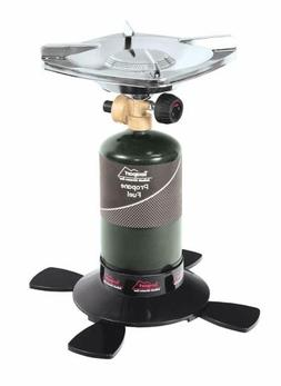 Texsport Propane Stove Single Burner - Features Adjustable H