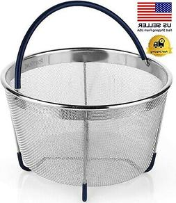 Instant Pot Accessories Steamer Basket for 3/6 QT or 8 QT In