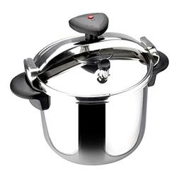 Star R Stainless Steel Fast Pressure Cooker, 12 Quarts