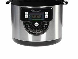 Tayama TMC-60XL 6 Quart 8 in 1 Multi Function Pressure Cooke